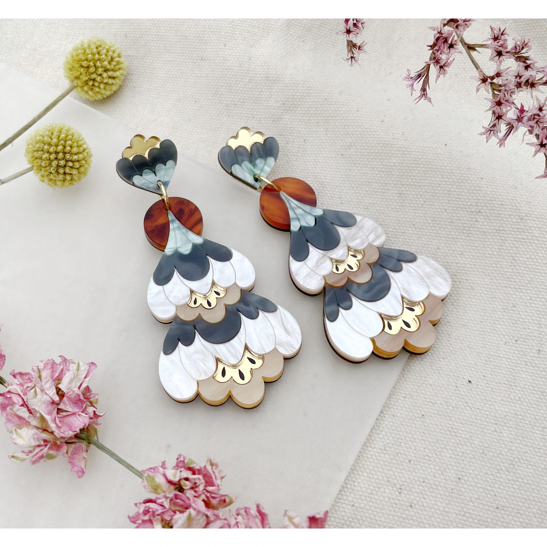 Crocus-Statement-Earrings-Pearl