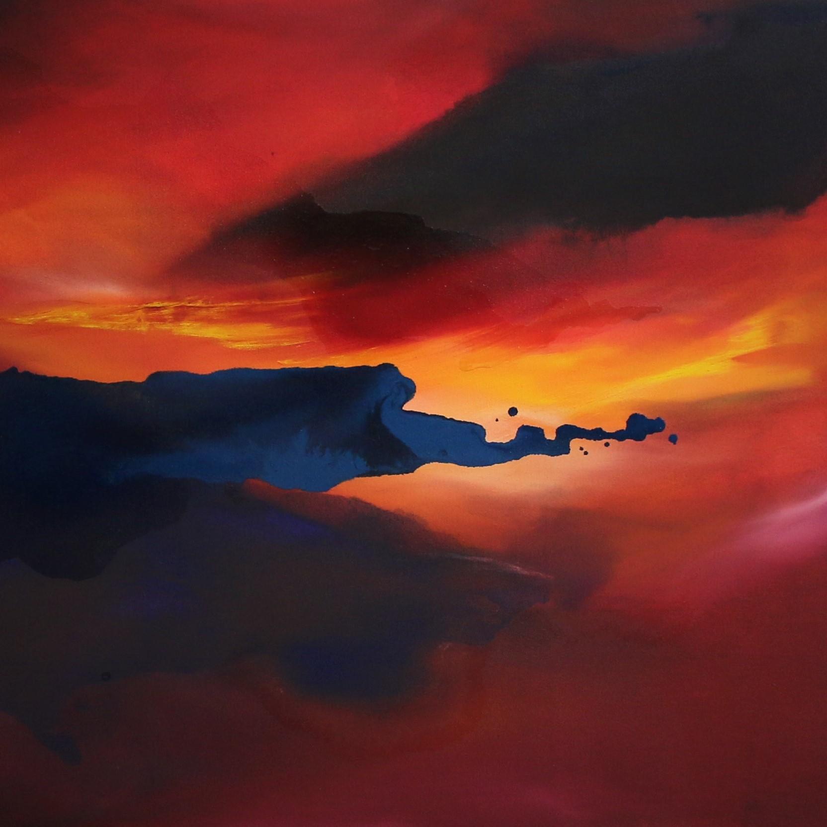 Kathryn Stevens Ophelia painting